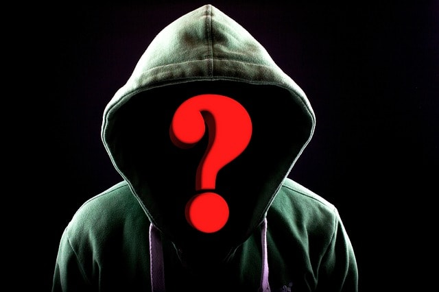 Man in mask - whois who online