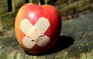 plaster on apple - - Making love last a lifetime