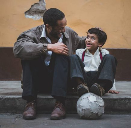 Father and son - impact of entertainment on relationships