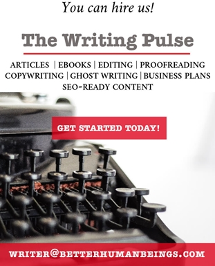 The Writing Pulse Ad